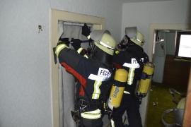 Atemschutzübung am 03.01.2015