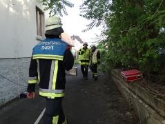 Großübung Wiesenweg am 07.06.2016